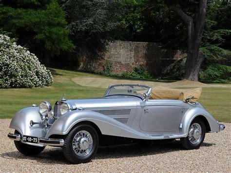 mercedes 540k cabriolet a 1937 38