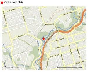 cottonwood flats trails nature parks trails city