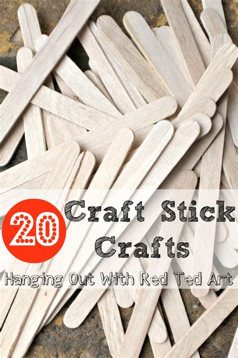 craft stick project ideas craft stick crafts ted s