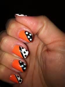 Nail art designs 10 src 20 beautiful orange nail art designs 12 src