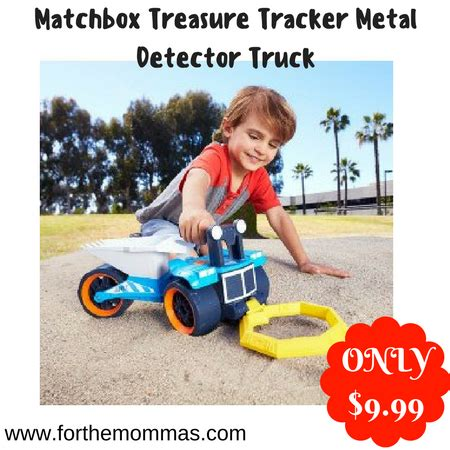 Wheels Truck With Metal Detector Matchbox Treasure Tracker Metal Detector Truck Only 9 99