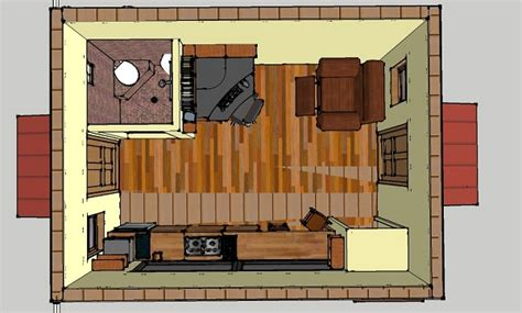 192 square foot home for two small house living tour in 192 sq ft off grid tiny cabin design