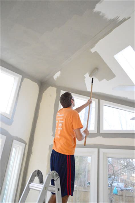 how to paint a vaulted ceiling how to paint high vaulted ceilings house