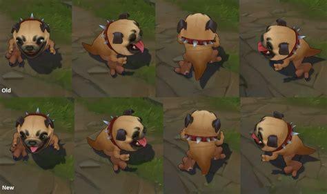 pug maw at 20 3 17 pbe update pug maw skin tweaks more