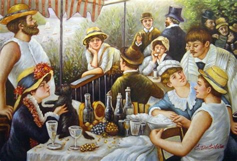 luncheon of the boating party restaurant renoir quot a luncheon of the boating party quot manufacturers