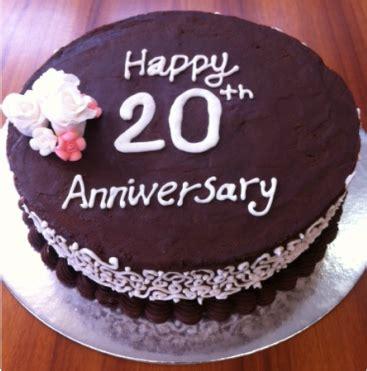 20th wedding anniversary cake sugar cup baker
