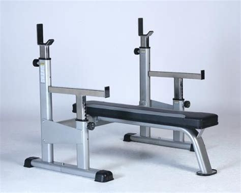 safety bench olympic bench safety spotter attachment