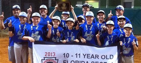 Buffalo Creek 10 11 All Stars Win Section 4 Little League