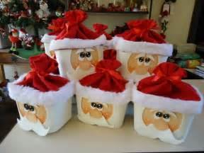 Decorative Cardboard Box With Lid Cute Santa Claus Decorations Diy Alldaychic