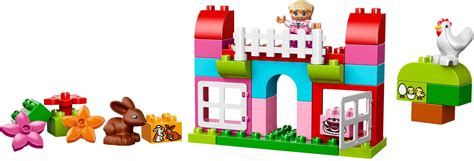Lego 10571 Duplo All In One Pink Box Of lego duplo 10571 all in one pink box of new 10571 32 99
