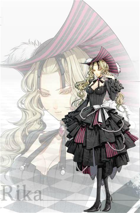 amnesia anime character name rika amnesia anime characters database