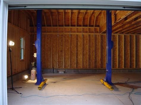 Two Story Pole Barn garage with 2 post lift rennlist porsche discussion forums