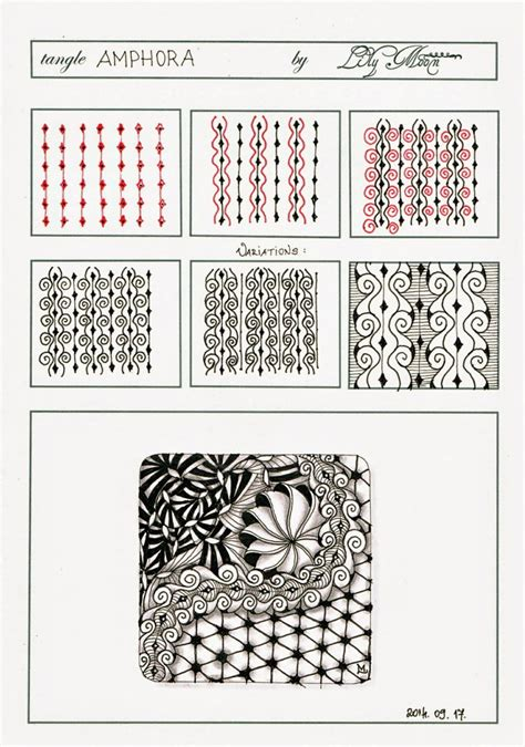 zentangle design 30 easy zentangle patterns to give you great ideas for