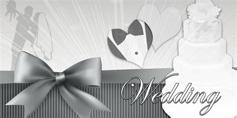 Wedding Banner For Cake by Wedding Banners Cake Black White
