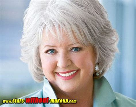 is paula deens hairstyle good for thin hair paula deen without makeup stars without makeup com