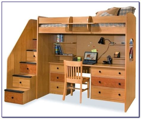 bunk bed with futon and desk bunk bed with desk and futon argos desk home design