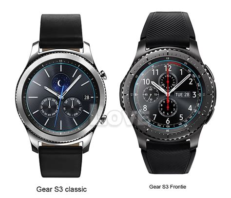 Tempered Glass Samsung Gear S3 Classic Frontier 2x tempered glass screen protector for samsung gear s2 s3