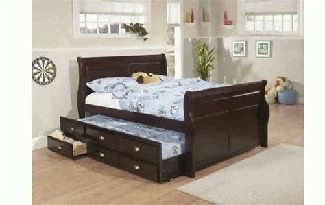full bed with trundle and storage best of full size bed with trundle and storage design
