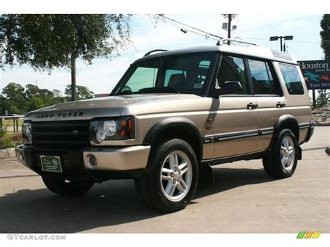 white and gold range rover white gold 2003 land rover discovery se7 exterior photo