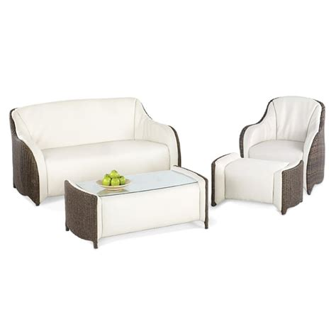 Luxor Furniture by Luxor All Weather Wicker Set By Domus Ventures