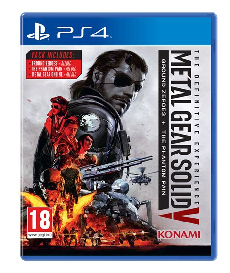 metal gear solid 5 the definitive experience officially