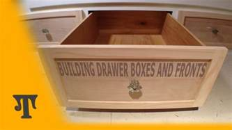 building plywood drawer boxes with finger joints and