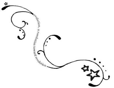 tattoo designs around words swirly spiral writing tattoos swirl designs