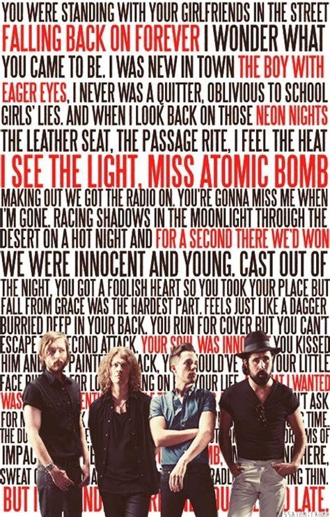 printable lyrics to jingle bombs 1000 images about the killers on pinterest lightning