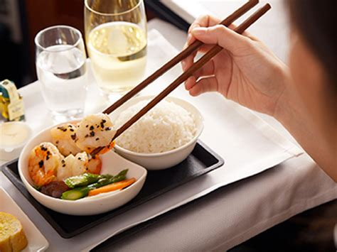 cuisine traditionnelle chinoise cathay pacific propose une cuisine chinoise de haut haut