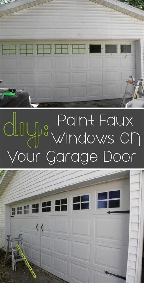 How To Update Garage Door by 25 Diy Projects To Add Value To Your Home 22 Is So