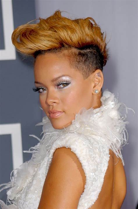 Rihanna Mohawk Hairstyles by 22 Mohawk Haircut Ideas Designs Hairstyles Design