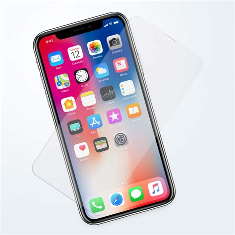tempered glass screen protector apple iphone xs clear
