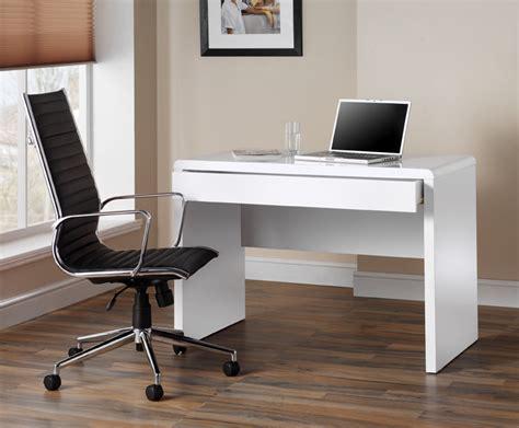white gloss desk uk high gloss white workstation computer desk by luxor uk