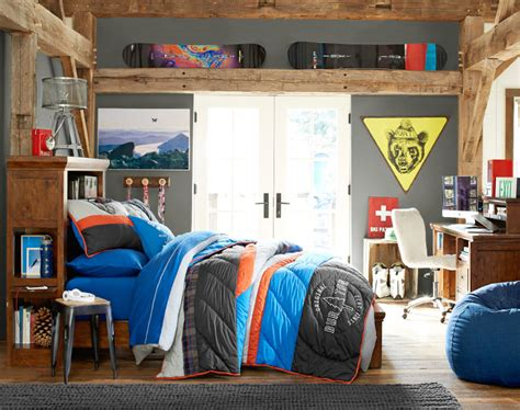 Rooms Brton by Room We Burton Backcountry Quilt Sham Pottery Barn