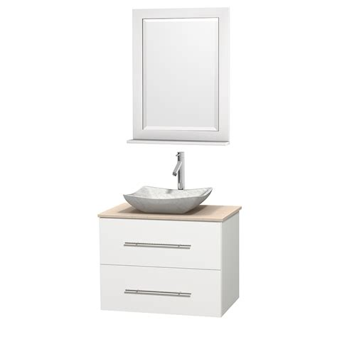wyndham collection wcvw00930swhivgs3m24 centra 30 inch