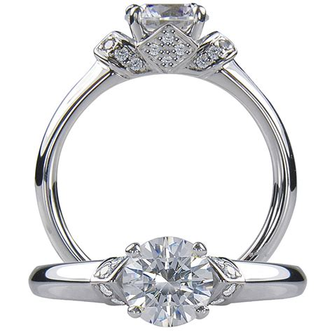 an overview of engagement ring styles black ring