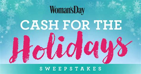 Woman S Day Sweepstakes - woman s day pay your bills sweepstakes