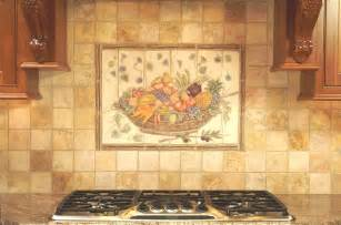 fruit tiles accent for kitchen backsplash