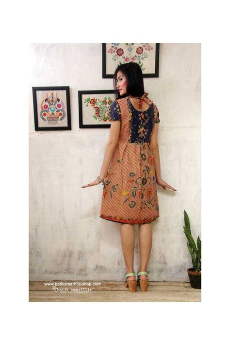 Al406 Blouse Motif Bagus batik amarillis made in indonesia batik amarillis indonesia