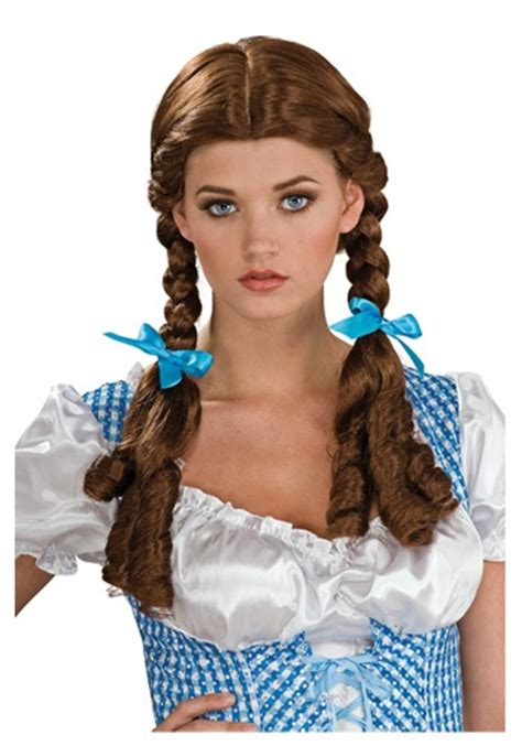 dorothy hamill wigs dorothy deluxe wig sexy wizard of oz costume accessories