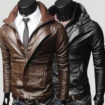 Korean Jaket Leather Brown Style 31 s biker leather jacket black leather jacket mens