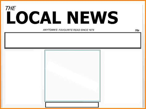 news story template 5 blank newspaper article template attorney letterheads