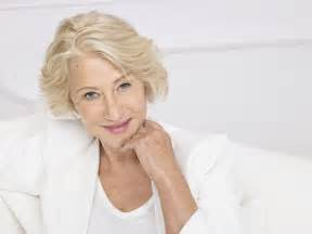 helen mirren hairstyles for l oreal helen mirren 69 defies her years as the star of l oreal