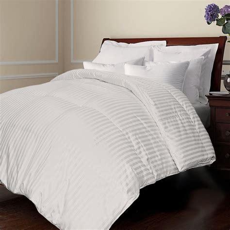 down comforters covers all season damask stripe white down comforter