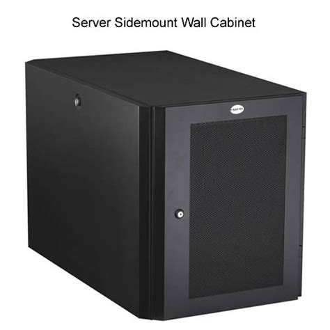 Cabinets In A Box by Black Box Server Sidemount Wall Cabinets