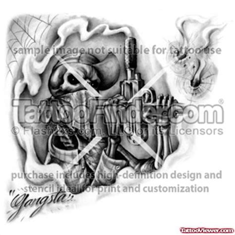 grey ink cash money gangsta tattoo design tattoo viewer com