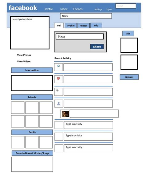 blank profile template 1000 ideas about blank lesson plan template on