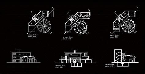 design   bank dwg plan  autocad designs cad