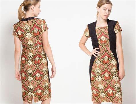 Rok Pendek Batik B31117001mot27 Bawahan Cewek Lucu Terbaru Batik Sogan 100 gambar baju batik anak perempuan lengan pendek dengan memilih model baju batik kantor untuk