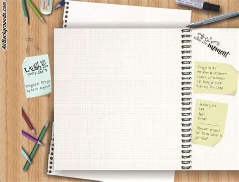 notebook templates for blogger note book backgrounds twitter myspace backgrounds